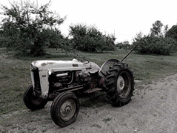 The Apple Farm Tractor