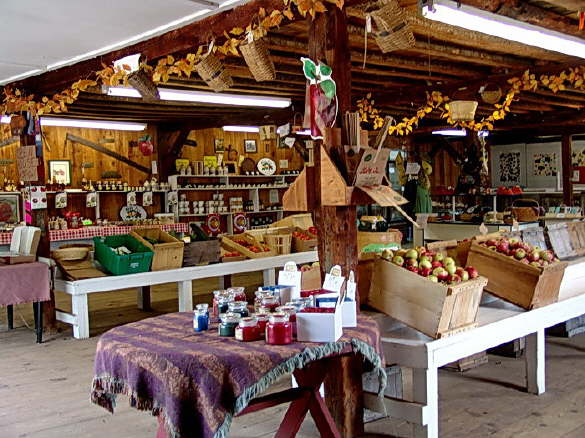 The Retail Store at The Apple Farm in Fairfield, Maine